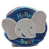 Baby GUND Flora Bunny ソフトプラッシュ アクティビティブック 8インチ マルチカラー 8
