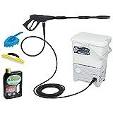 アイリスオーヤマ 高圧洗浄機 タンク式 洗車セット SBT-512NS