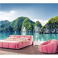 Mingld カスタム3D壁画、美しい風景の自然の壁紙、レストランのリビングルームのソファテレビの壁の寝室の3D壁紙-250X175Cm