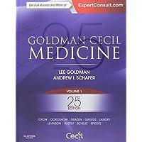 Goldman-Cecil Medicine,  2-Volume Set, 25e (Cecil Textbook of Medicine)