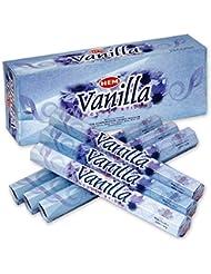 HEM(ヘム) バニラ VANILLA スティックタイプ お香 6筒 セット [並行輸入品]