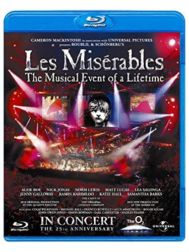 レ・ミゼラブル 25周年記念コンサート[AmazonDVDコレクション] [Blu-ray]
