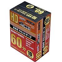 磁気研究所 カセットテープ 60分(片面30分) 10本パック