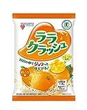 [トクホ]マンナンライフ 蒟蒻畑ララクラッシュ オレンジ味24gx8個×12袋