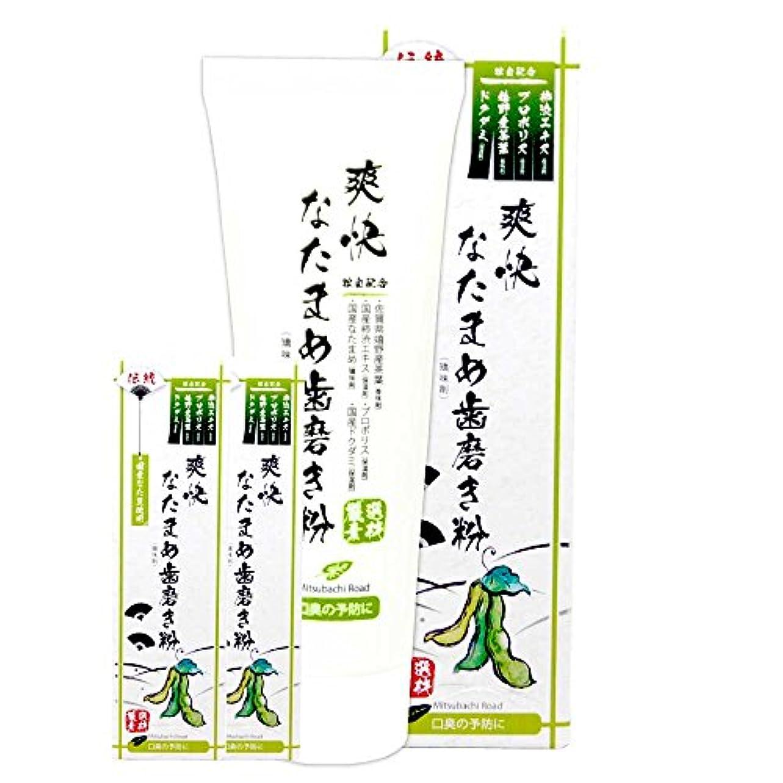 伝統 爽快 なた豆歯磨き粉 120g (3個セット)