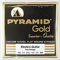 PYRAMID STRINGS EG Gold 013-056 フラットワウンド エレキギター弦