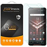 Supershieldz [3-Pack] for Asus ROG Phone Tempered Glass Screen Protector, Anti-Scratch, Bubble Free, Lifetime Replacement War