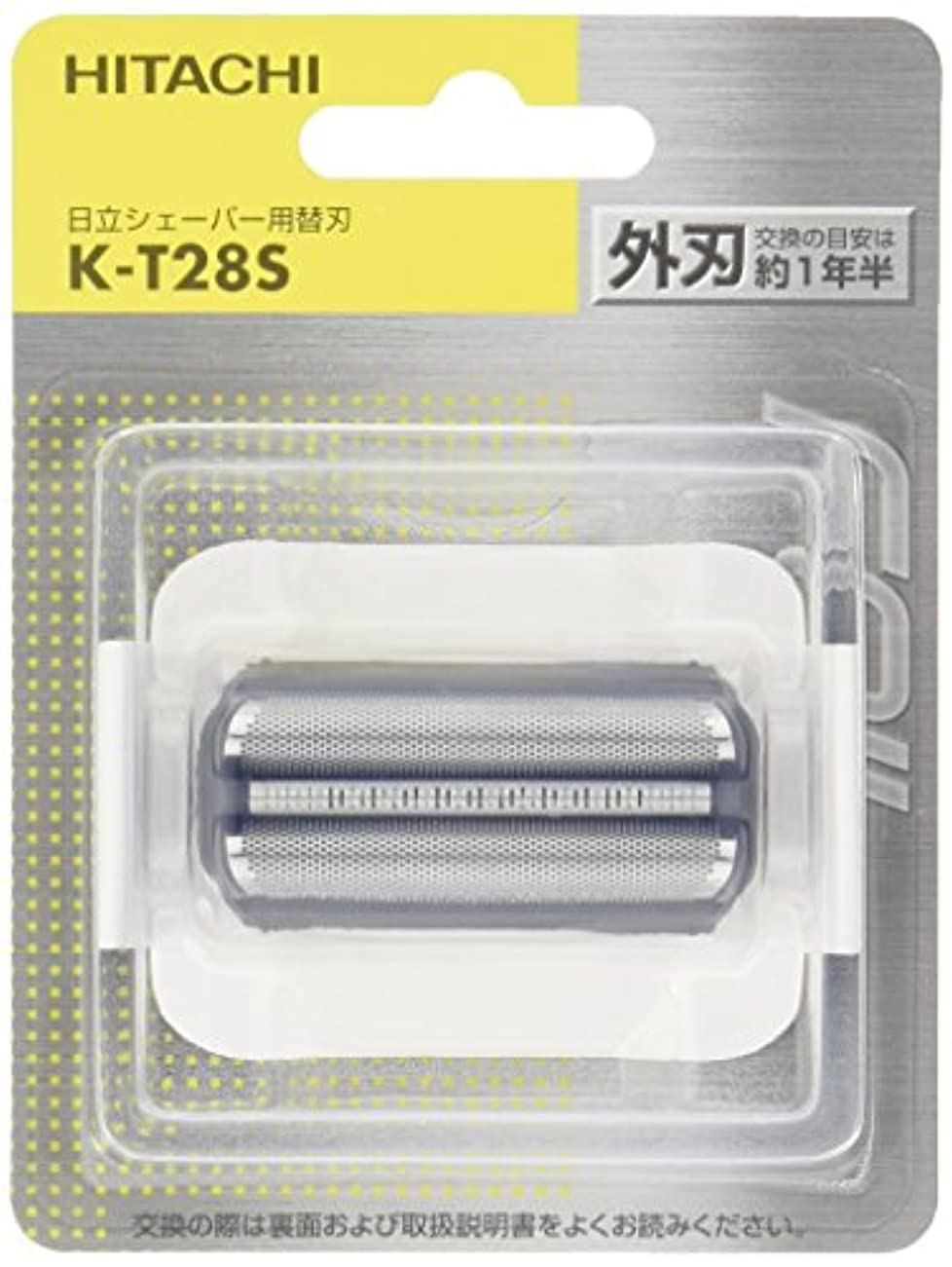 あまりにも滑る数学者日立 替刃 外刃 K-T28S