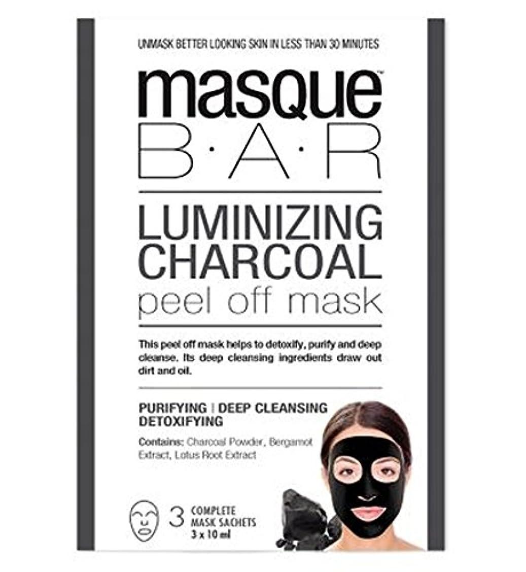 同化する乏しい賃金[P6B Masque Bar Bt] 仮面バーチャコールはがしマスクをルミナイジング - 3枚のマスク - Masque Bar Luminizing Charcoal Peel Off Mask - 3 Masks...