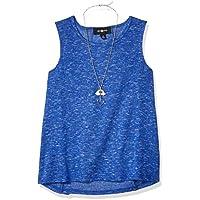 Amy Byer Girls 206737G A-line Tank Top Sleeveless Cami Shirt