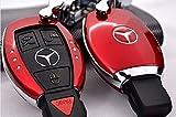 メルセデスベンツMERCEDES BENZ  w221 430 AMG 600s スマートキーケース赤