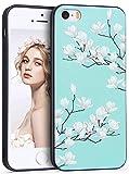 iPhone 6 6s ケース Imikoko iPhone6 6sカバー スマホケース おしゃれ かわいい 花柄 花 人気 可愛い ソフトケース 女性 携帯カバー アップルアイフォン6/6s 4.7インチ用 (iPhone5/5s/SE, 柄2)