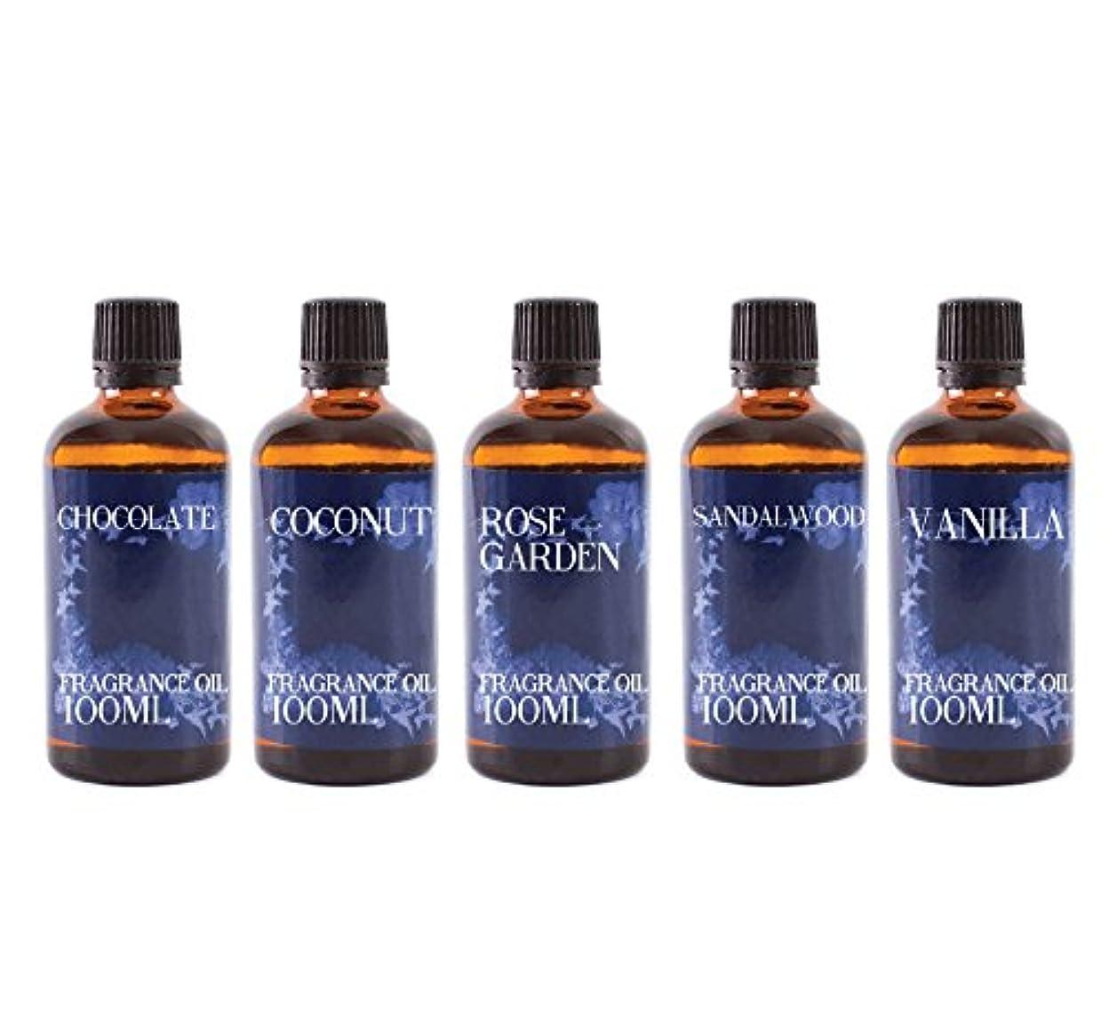 確執バンドルバイソンMystic Moments | Gift Starter Pack of 5 x 100ml Favourite Fragrant Oil