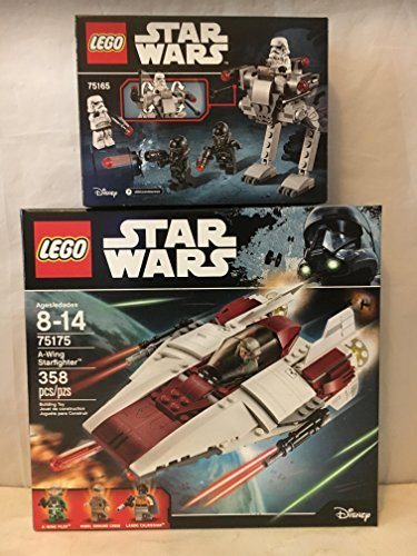 LEGO Star Wars A-Wing Starfighter & LEGO Star Wars Imperial Trooper Battle Pack