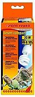 Sera 32022レプティルデザートコンパクト/ 20 W(Bの10%UV)砂漠のテラリウム用デイライトランプ、健康、成長、健康を促進