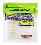 Fish Arrow(フィッシュアロー) ルアー フラッシャーワーム 1インチ #10 グローオキアミ