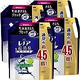 【ケース販売】レノア 超消臭1WEEK 柔軟剤 SPORTSデオX フレッシュシトラスブルー 詰め替え 約4.5倍(1790mL)×4袋
