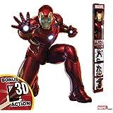(Iron Man) - Marvel Avengers Iron Man Augmented Reality Wall Decal Peel & Stick Removable Vinyl