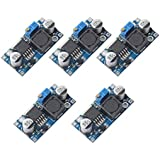 5 Pack LM2596 DC to DC Buck Converter 3.0-40V to 1.5-35V Power Supply Step Down Module