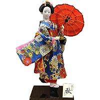 和風の美しい着物芸者/舞妓人形/ギフト/ジュエリー-A37
