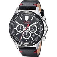 ブラック メンス アナログ カジュアル クォーツ Ferrari 時計 PILOTA ???? 0830389