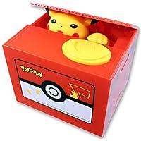 Pikachu Coin Piggy Bank–Musical Moving電子Stealingお金ボックス