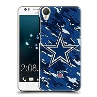 オフィシャル NFL カモフラージュ ダラス・カウボーイズ ロゴ ハードバックケース HTC Desire 10 Lifestyle