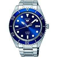 Seiko Series 5 Automatic Blue Dial Men's Watch SRPB89
