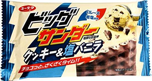 有楽 ビッグサンダー クッキー&塩バニラ 1箱(20袋)