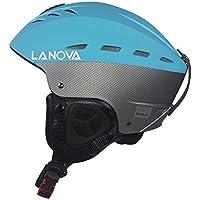 Lanova Ski Snow Snowboard Skate Helmet for Youth Adult (Blue/ M) [並行輸入品]