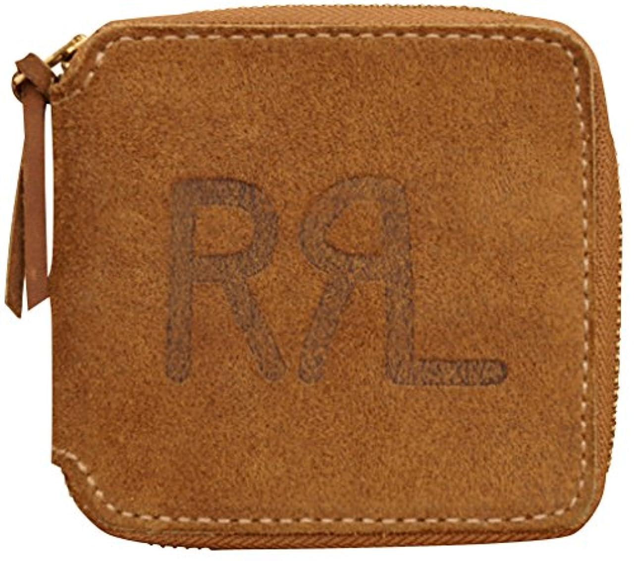 デモンストレーション巡礼者ヒューズ(ダブルアールエル) RRL 米国製 ラフアウト レザー ジップ ウォレット Roughout Leather Zip Wallet 並行輸入品 [並行輸入品]