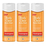 Neutrogena Body Clear Acne Body Wash with Glycerin & Salicylic Acid Acne Medicine for Acne-Prone Skin, Non-Comedogenic, 8.5 fl. oz (Pack of 6)