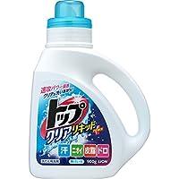 トップ クリアリキッド 洗濯洗剤 液体 本体 900g