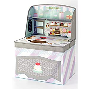 Kishima キシマ ごっこ遊び キッズ収納ボックス ケーキショップ KNB-88049 0ヶ月~6歳 出産祝い