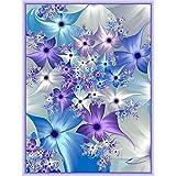 SODIAL Full Square Drill Diamond Painting Embroidery Flower 5D Diy Diamond Painting Cross Stitch Rhinestone Decor
