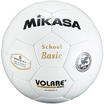 2580c3909207c8 Amazon | ミカサ サッカーボール5号 検定球 白 SVC502SBC-W | MIKASA ...