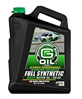 Green Earthテクノロジー1174g-oil 5W - 20bio-based Advanced Full Synthetic Motor Oil–5.1Quart Jug
