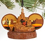 Disney Theme Parks Big Thunder Mountain Railroad Mickey Mouse Ears Hat Ornament by Disney [並行輸入品]