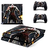 OMEGA MightySticker? PS4 Designer Skin Game Console + 2 Controller Decal Vinyl Protective Covers Stickers f Sony PlayStation 4 GOW God of War 3 Omega Ascension Scarface Kratos Ghost Sparta Muscular Warrior by MightySticker? [並行輸入品]