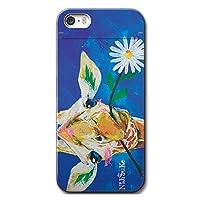 iPhoneSE iPhoneケース (ハードケース) [ミラー付き/カード収納/全面印刷] Nijisuke (ニジスケ) キリン 花 CollaBorn (iPhone5s/iPhone5対応)