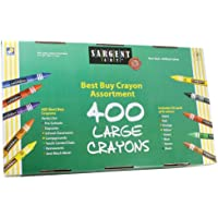 Sargent Art 55-3250 400-Count Large Crayon, Besy Buy Assortment by Sargent Art