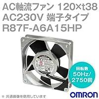オムロン(OMRON) R87F-A6A15HP AC軸流ファン 230V (120×t38 端子タイプ) (回転数 50Hz 2750回) NN