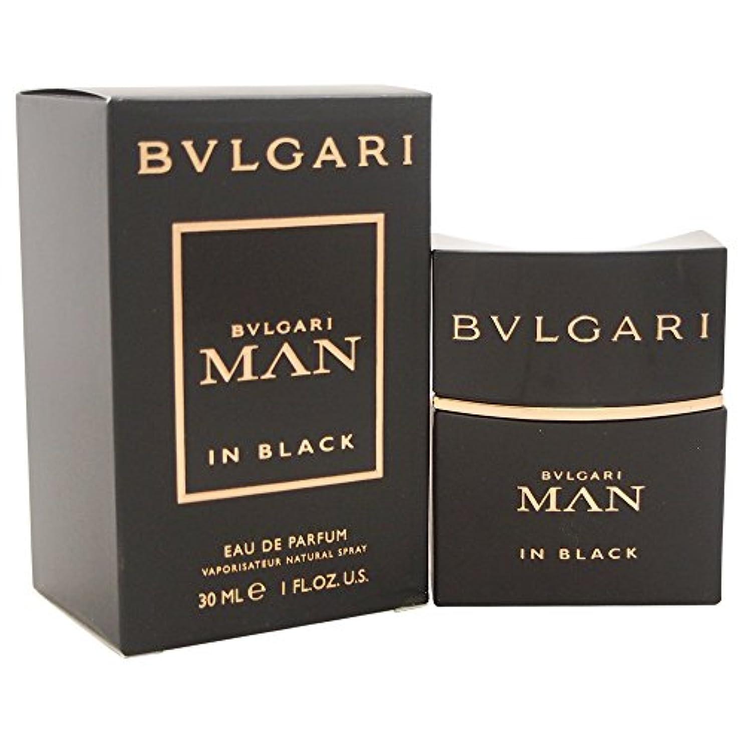 に賛成表向き柔らかいブルガリ BVLGARI  ブルガリ マン イン ブラック EP SP 30ml