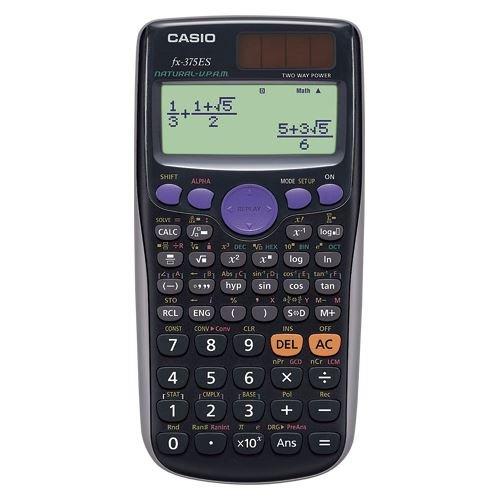 カシオ カシオ数学自然表示関数電卓 FX-375ES-N 00015513【まとめ買い3台セット】