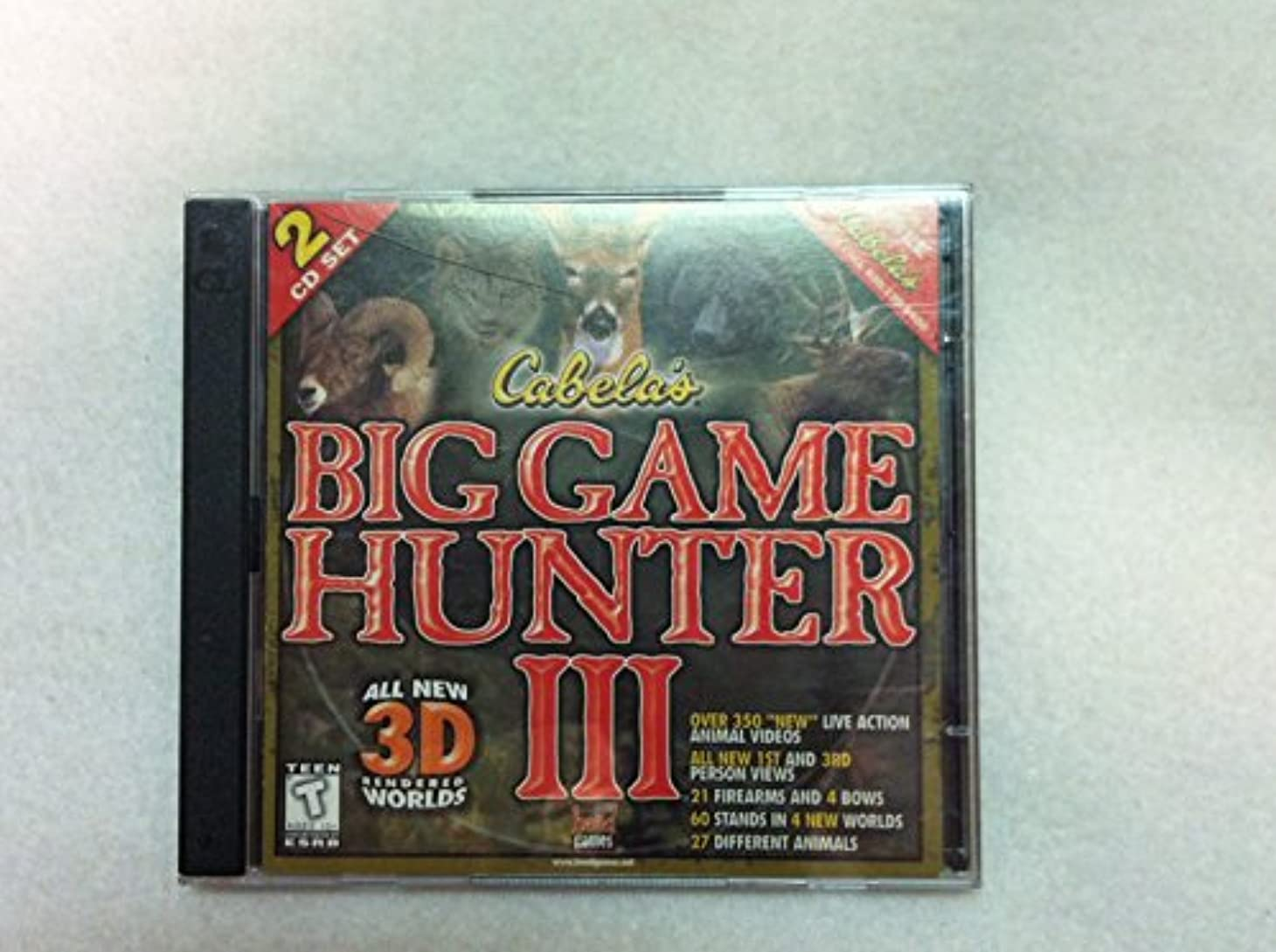 保持する講堂噴水Cabela's Big Game Hunter 3 (Jewel Case) (輸入版)