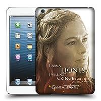オフィシャルHBO Game of Thrones Cersei Lannister キャラクター・ポートレート iPad mini 1 / mini 2 / mini 3 専用ハードバックケース