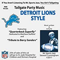 Tailgate Party Music Detroit Lions Style