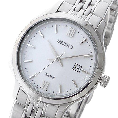 セイコー ネオクラシック NEO CLASSIC クオーツ レディース 腕時計 SUR711P1 ホワイト [並行輸入品]