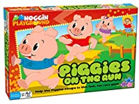 COBBLE HILL Young Kids Piggies on the Run Early Learning Counting Game