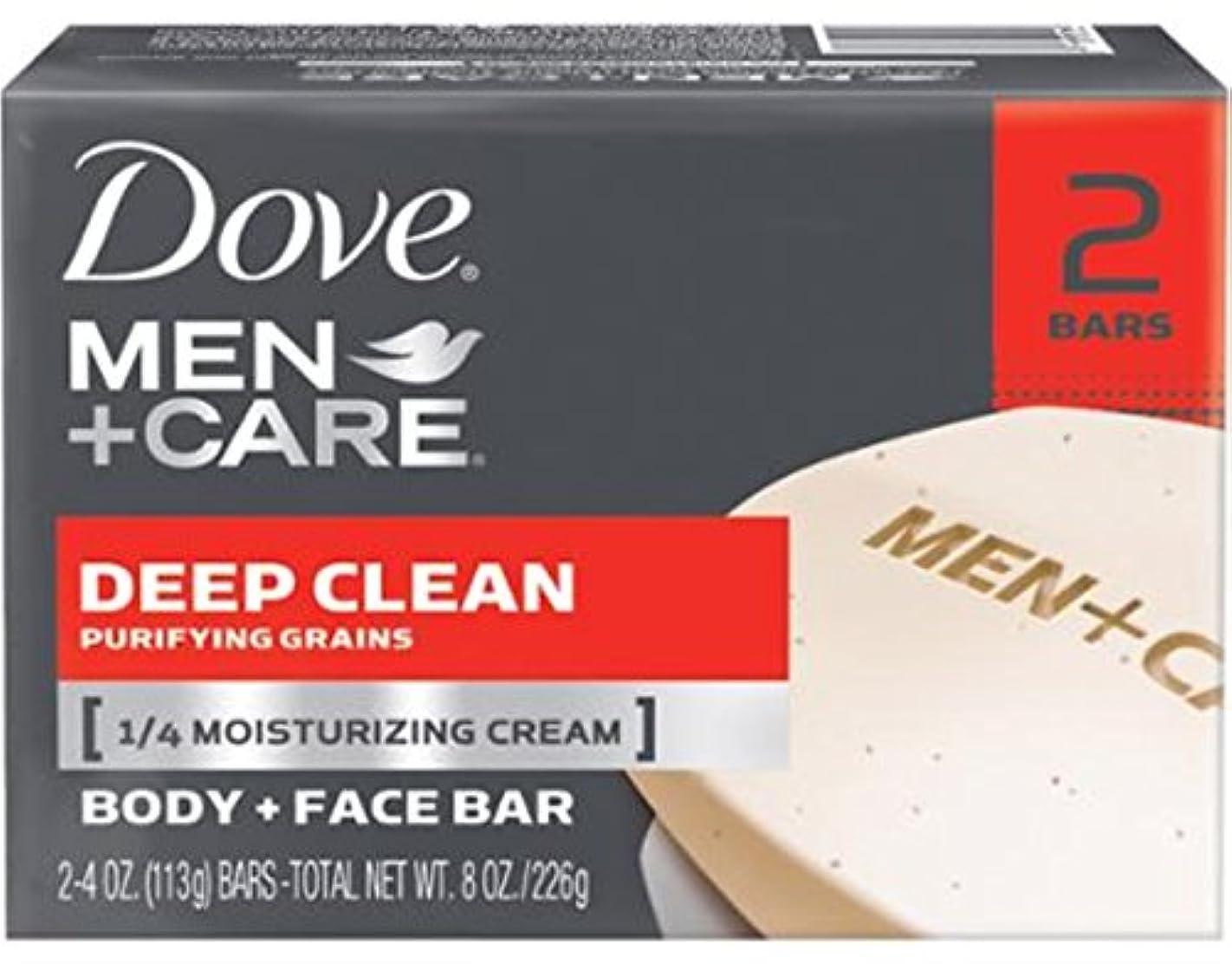 見て私たち三角Dove 男性+ケアボディ&フェイスバー、ディープクリーン4.25オズバー、2 Eaと(10パック) 10のパック